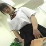 制服JKの美少女に説教され強制逆レイプのおしおきを受けるM男動画