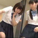 ドMな男性を足でいじめる制服JKの可愛い美少女たちwwwww