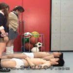 美少女JK二人組に踏まれてそのまま足コキ調教されるM男動画wwwwww